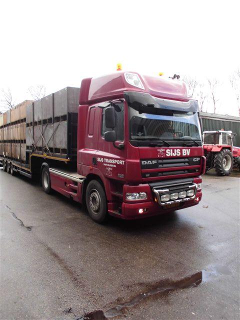 Sijs vrachtwagen